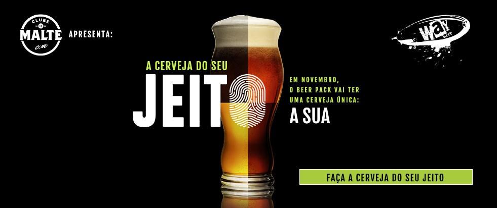 cerveja do seu jeito
