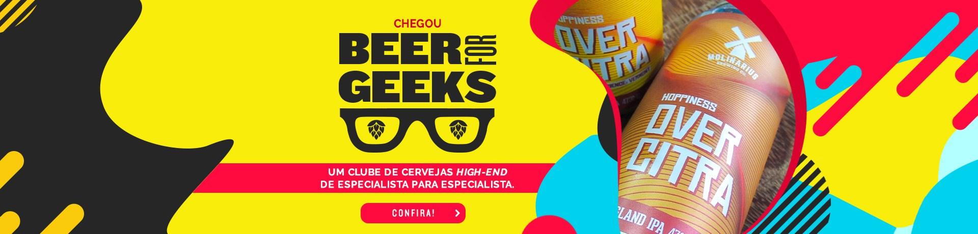 Beer for Geeks - Home Desktop