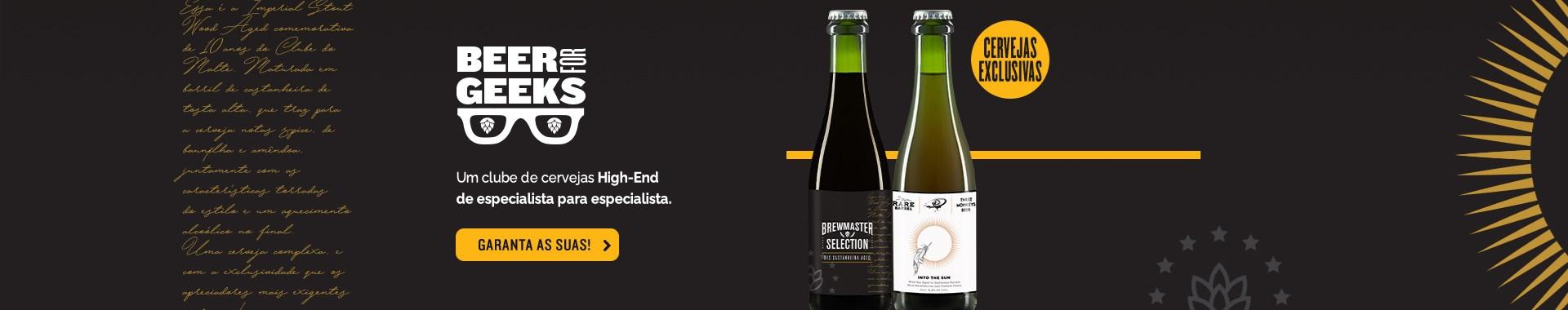 Beer For Geeks Março - Banner Home Desktop