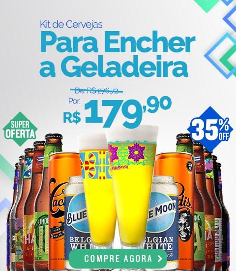 Kit Para Encher a Geladeira - Banner Mobile Desktop
