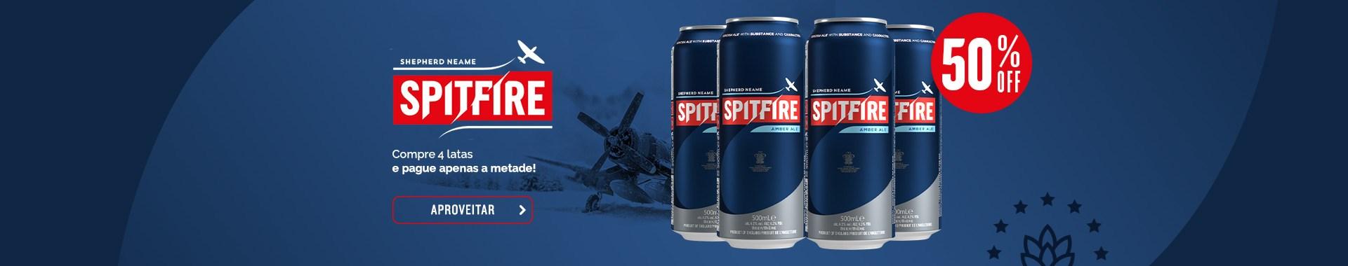 Spitfire 50% OFF - Clube do Malte