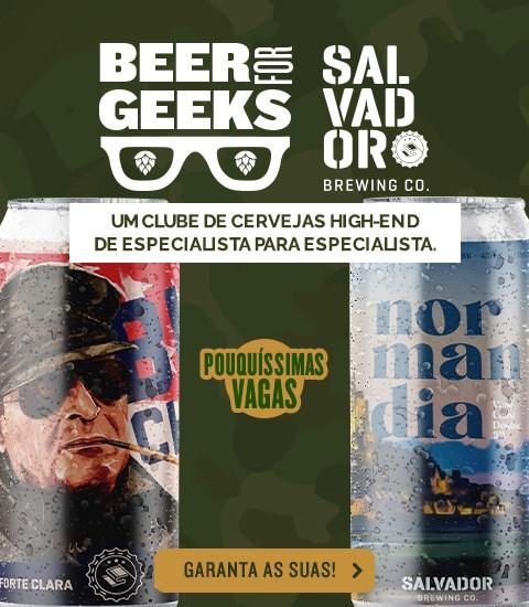 Beer For Geeks Março - Banner Home Mobile
