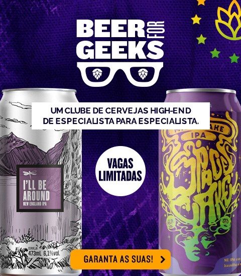 Beer For Geeks Março - Banner Home Mobile