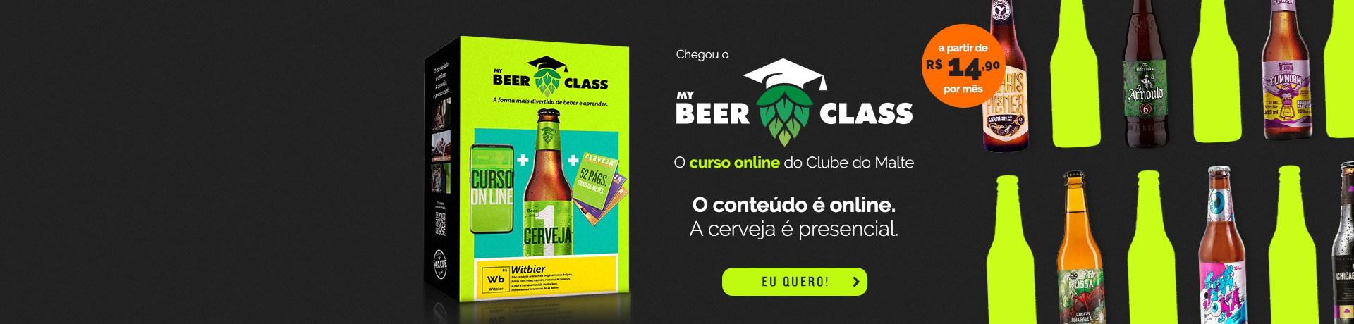 My Beer Class - Home