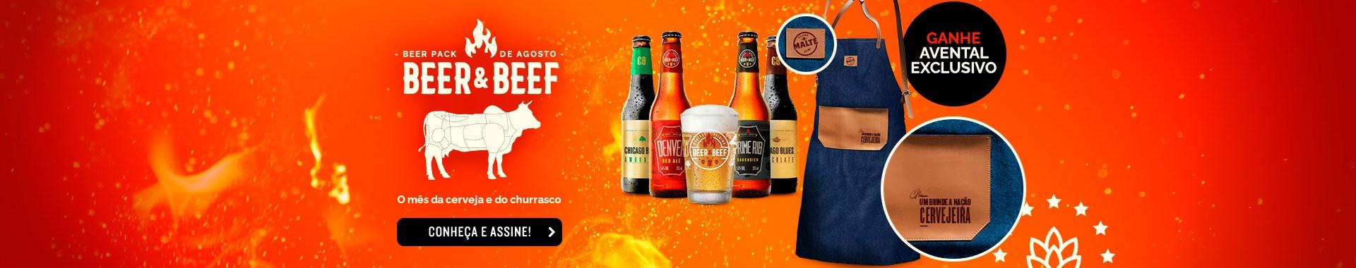 Beer Pack 4 + avental - Home Desktop