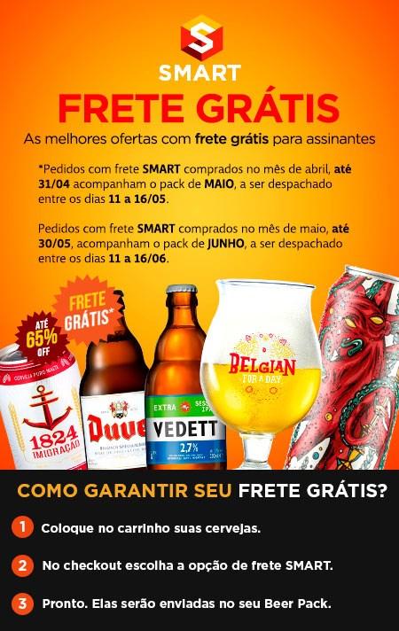Frete Smart - Cervejas com Frete Grátis ou Reduzido