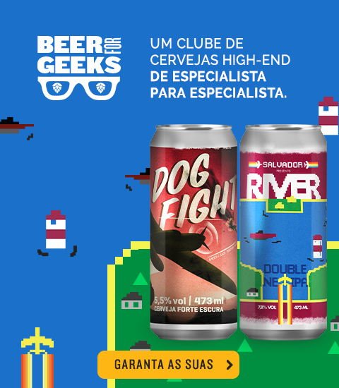 Beer For Geeks Agosto - Banner Home Mobile