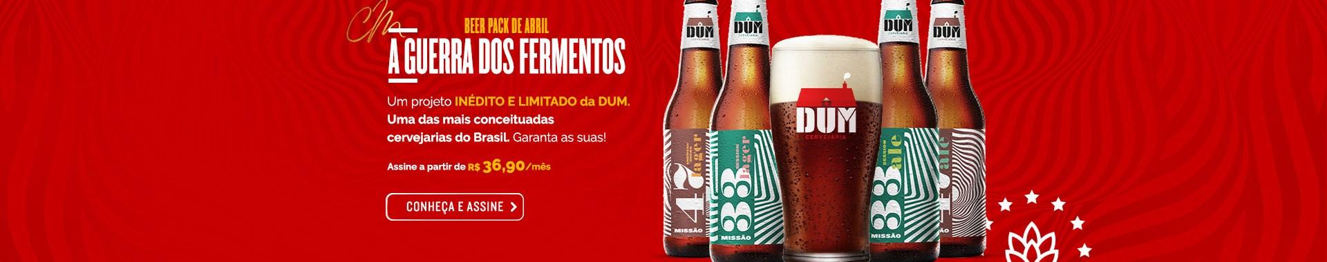 Assinatura de Cerveja - Clube do Malte