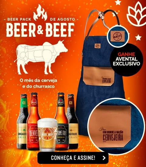Beer Pack 4 + avental - Home Mobile