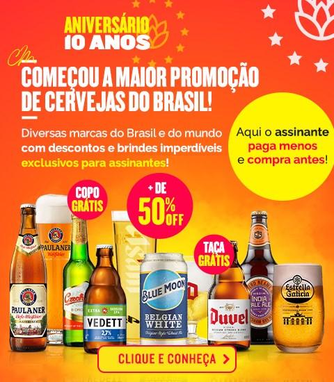 Aniversário Clube do Malte - A Maior Promoção de Cervejas do Brasil