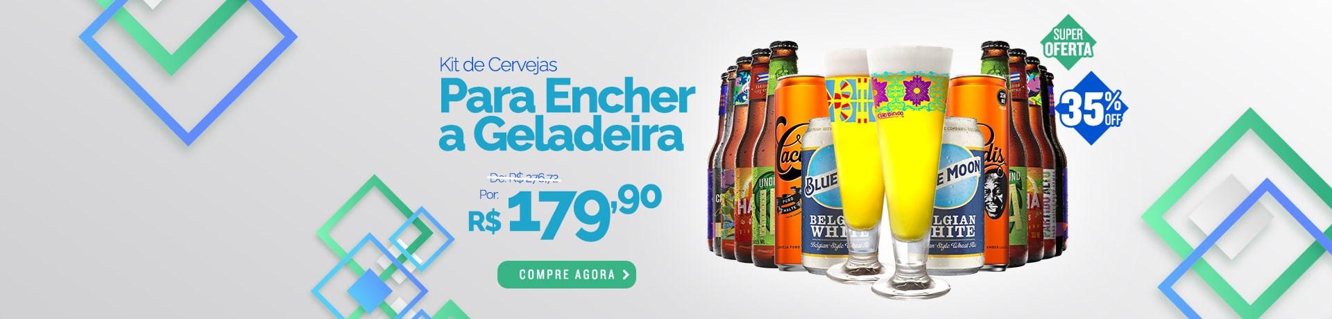 Kit para Encher a Geladeira - Banner Desktop Home