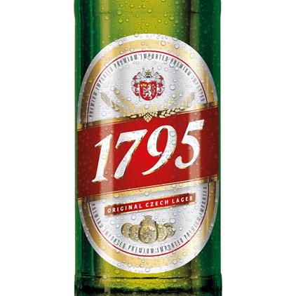 1795 Budweiser Original Czech Lager 500ml