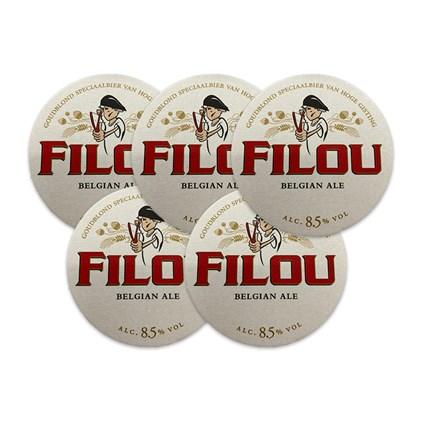 5 Bolachas Filou Belgian Ale