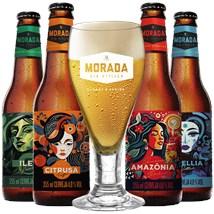 Assinatura Beer Pack 4 Cervejas e 1 Copo Anual - Dois Meses Grátis