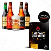 Assinatura Beer Pack 4 Cervejas e 1 Copo + Dois Meses Grátis (Anual)