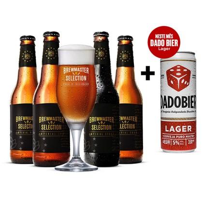 Assinatura Beer Pack 4 Cervejas e 1 Copo Gazeta do Povo Semestral