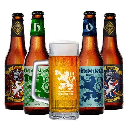 Assinatura Beer Pack 4 Cervejas e 1 Copo + Pote de Tampinhas (Trimestral)