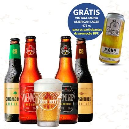 Assinatura Beer Pack -  Beer Friends Forever
