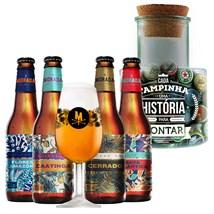 Assinatura Beer Pack - Cervejas com Pote de Tampinhas Grátis (Semestral)