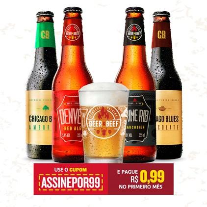 Assinatura Beer Pack Experience Semestral