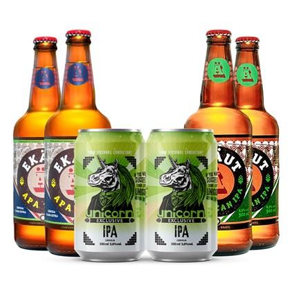Assinatura Beer Pack Special 6 + Bônus Pack Primeiro Mês