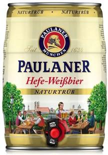 Barril Paulaner Naturtrub 5L