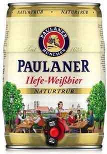 Barril Paulaner Naturtrube 5L