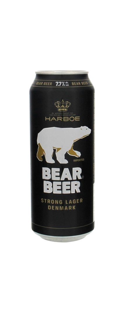 Bear Premium Strong Lager lata