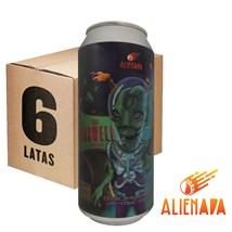 Caixa de Cerveja Alienada Roswell Hop Lager Lata 473ml c/6un - REVENDA