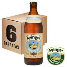 Caixa de Cerveja Ayinger Brauweisse Garrafa 500ml c/6un - REVENDA