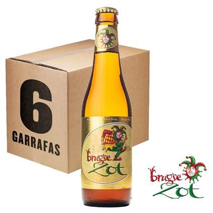 Caixa de Cerveja Brugse Zot Blon Garrafa 330ML c/6un - REVENDA