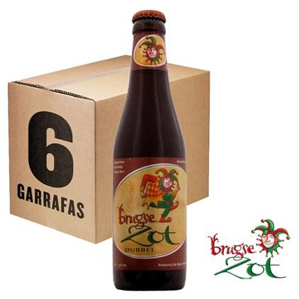 Caixa de Cerveja Brugse Zot Dubbel Garrafa 330ML c/6un - REVENDA