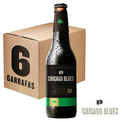 Caixa de Cerveja Chicago Blues Amburana 355ml c/6un - REVENDA