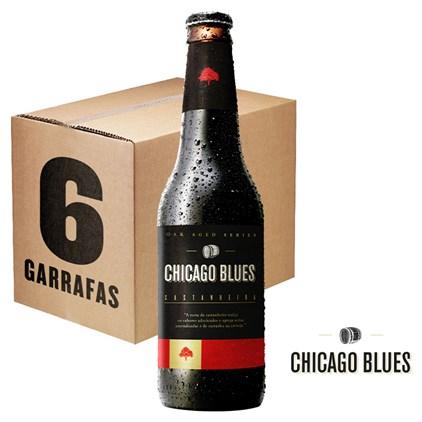 Caixa de Cerveja Chicago Blues Castanheira 355ml c/6un - REVENDA