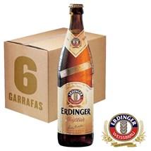Caixa de Cerveja Erdinger Weissbier 500ml c/6un - REVENDA