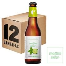 Caixa de Cerveja Mojito Sour Garrafa 355ml c/12un - REVENDA