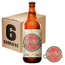 Caixa de Cerveja Motoneta 600ml c/6un - REVENDA