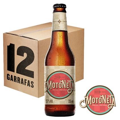Caixa de Cerveja Motoneta Garrafa 355ml c/12un - REVENDA
