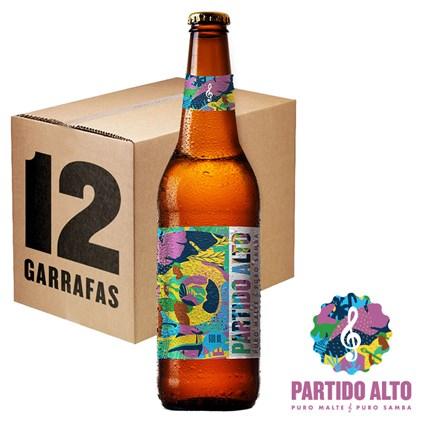 Caixa de Cerveja Partido Alto 600ml c/12un - REVENDA