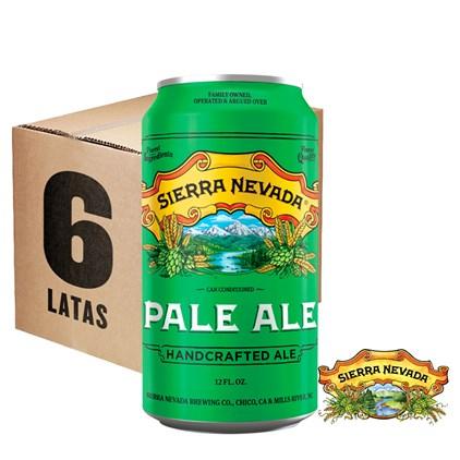 Caixa de Cerveja Sierra Nevada Pale Ale Lata 355ml c/6un - REVENDA