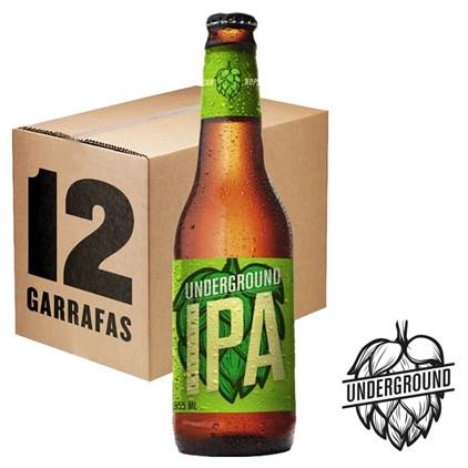 Caixa de Cerveja Underground 355ml c/12un - REVENDA