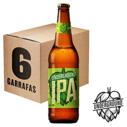 Caixa de Cerveja Underground 600ml c/6un - REVENDA