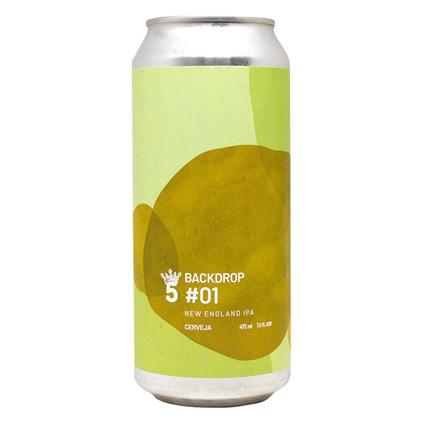 Cerveja 5 Elementos Backdrop #1 Lata 473ML