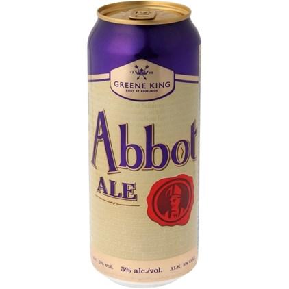 Cerveja Abbot Ale Lata 500ml