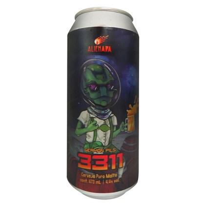Cerveja Alienada 3311 German Pils Lata 473ml