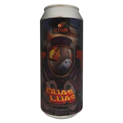 Cerveja Alienada Duas Luas APA Lata 473ml