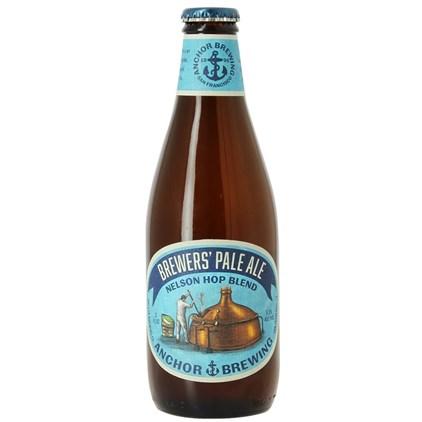 Cerveja Anchor Brewer Nelson Hop Blend Garrafa 355ml