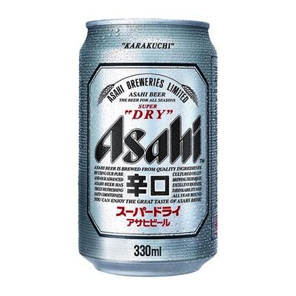 Cerveja Asahi Super Dry Lata 330ml