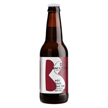 Cerveja Backbone #5 Irish Red Ale Garrafa 355ml