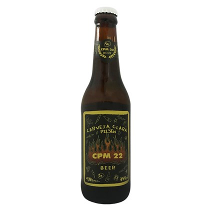 Cerveja Bamberg CPM22 Pilsen Garrafa 355ml